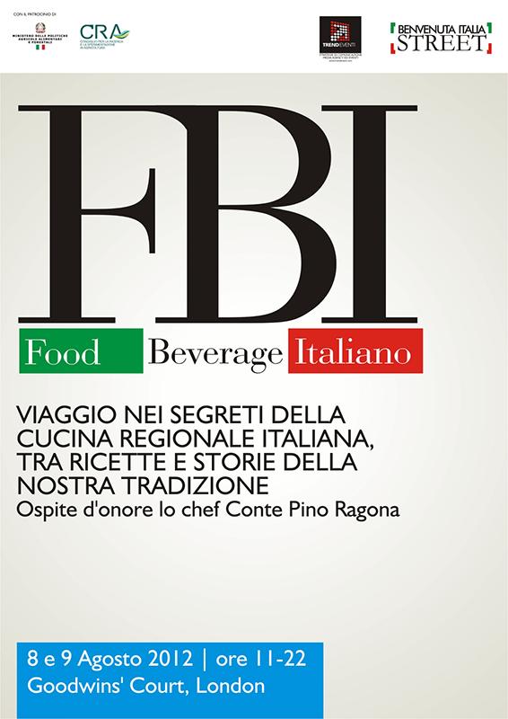 "London Olympics 2012, ""FBI"" Food – Beverage Italiano"