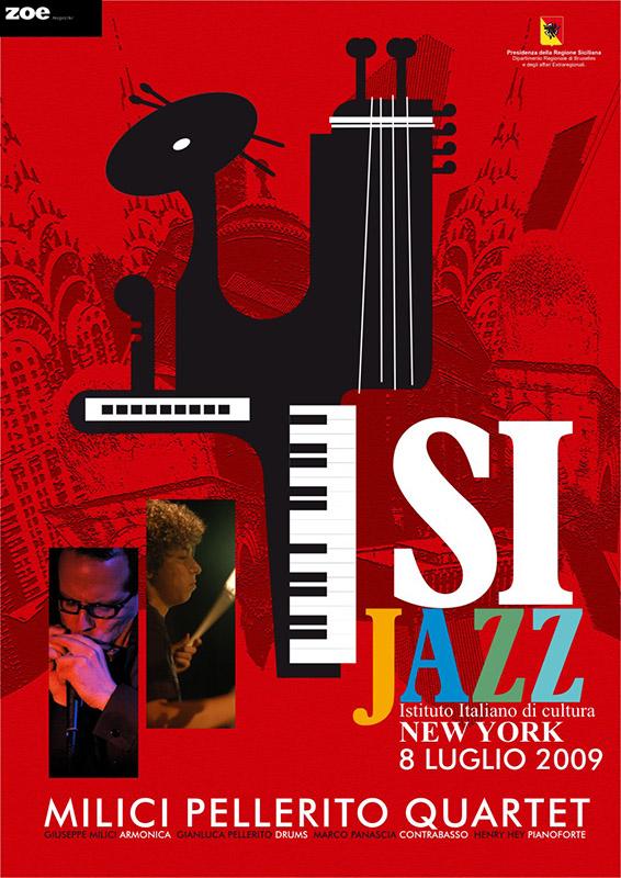 Istituto di Cultura Italiana New York – Gianluca Pellerito & Friends,    Live in New York