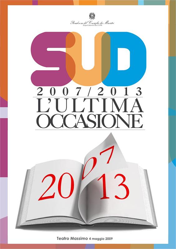 Presidenza del Consiglio dei Ministri<br/>SUD – L'ultima occasione