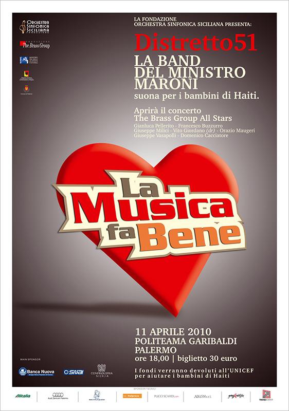 """Prefettura di Palermo,<br/> """"La musica fa bene"""""""
