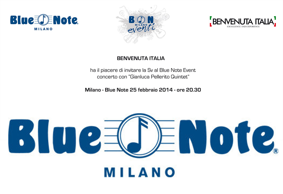 Gianluca Pellerito – Blue Note Milano